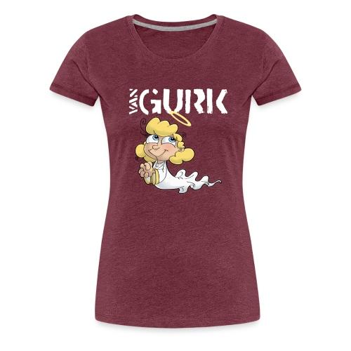 VAN GURK Engerl mit Logo WEISS - Frauen Premium T-Shirt