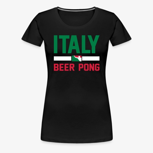 Italy Beer Pong - Frauen Premium T-Shirt