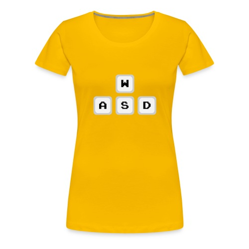 WASD - Premium T-skjorte for kvinner