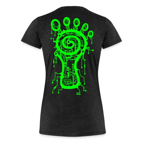 Parvati Records Matrix logo - Women's Premium T-Shirt