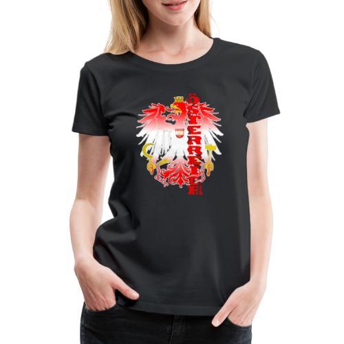 Österreich rot weiss Heimat Stolz - Frauen Premium T-Shirt