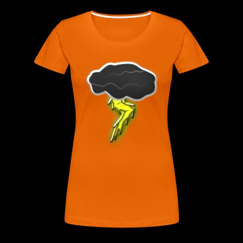 Blitzschlag - Frauen Premium T-Shirt