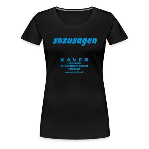 0111sozusagen - Frauen Premium T-Shirt