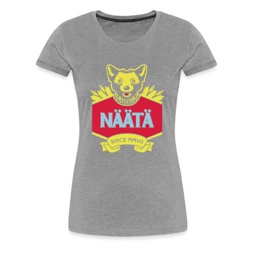 Näätä - Naisten premium t-paita