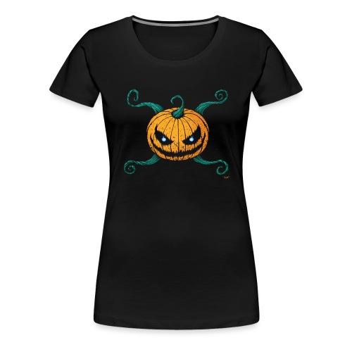 Pumpkin Cross - T-shirt Premium Femme