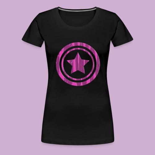 STERN IM KREIS - Frauen Premium T-Shirt