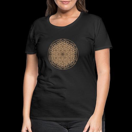 lebensblume-fc9 - Frauen Premium T-Shirt