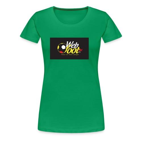 webfoot.be - T-shirt Premium Femme