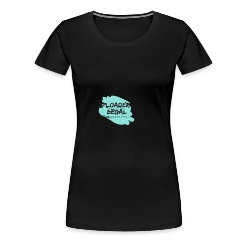 UploaderLegal - Camiseta premium mujer