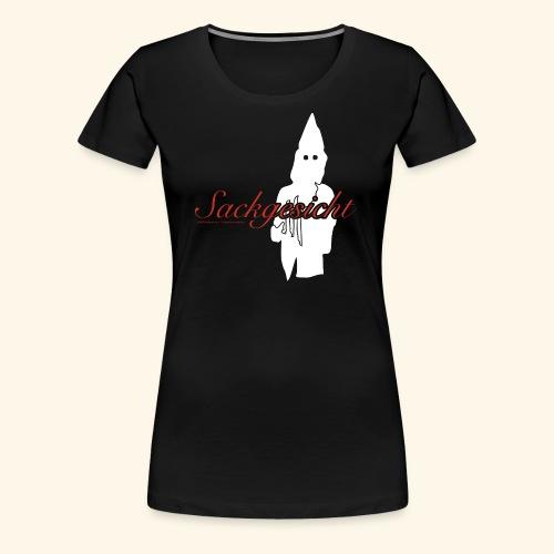 Sackgesicht - Frauen Premium T-Shirt