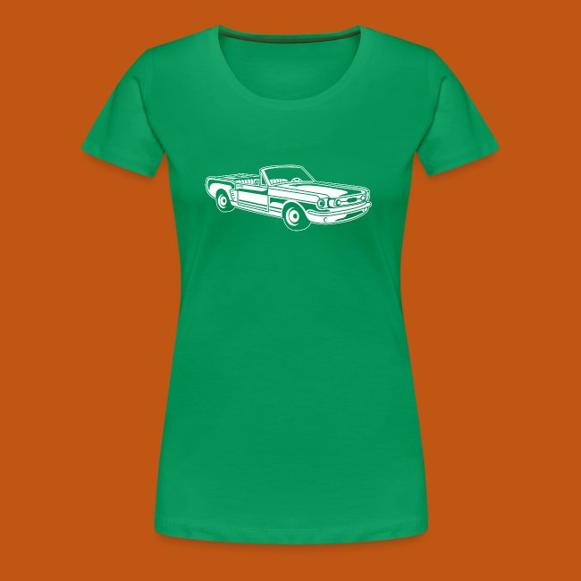 Cabrio / Muscle Car 02_weiß