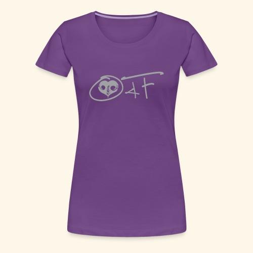 O4F GRIGIO - Maglietta Premium da donna