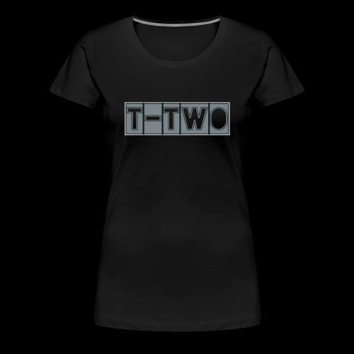 T TWO LOGO - Frauen Premium T-Shirt