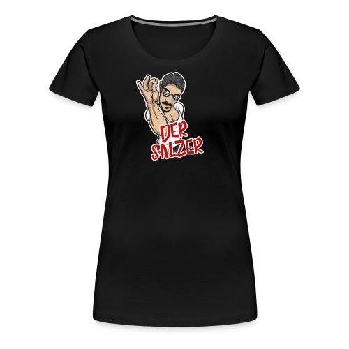 Der Salzer | Grillmeister Tshirt - Frauen Premium T-Shirt