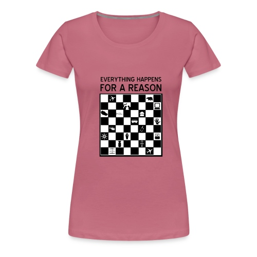 Lost everything happens for a reason - Camiseta premium mujer