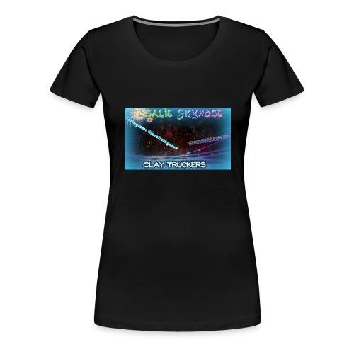 Rosa jpg - Premium T-skjorte for kvinner