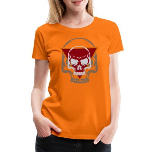Schädel Skull Skulls Geschenkidee Totenkopf - Frauen Premium T-Shirt