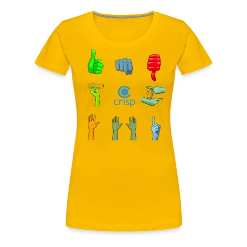 handsignals-color - Premium-T-shirt dam