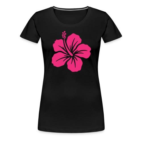 Camisetas, blusas, forros celulares de flor rosada - Camiseta premium mujer