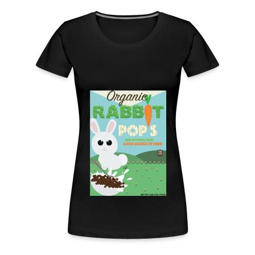 Rabbit pops - T-shirt Premium Femme