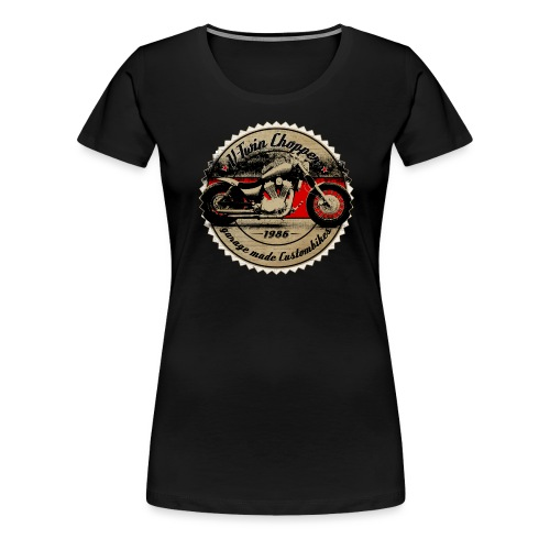 CHROMELESS V2 CHOPPER VOL2 - Frauen Premium T-Shirt