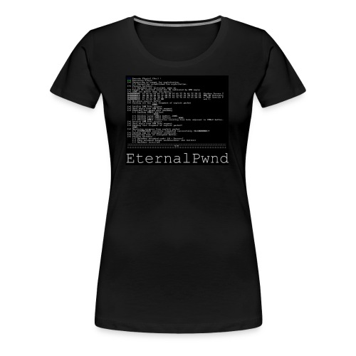 EternalBlue - Vrouwen Premium T-shirt