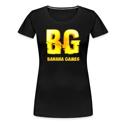 BananaGames Logo - Vrouwen Premium T-shirt