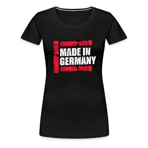 Silvester Feuerwerk Deutsche Knaller - Frauen Premium T-Shirt