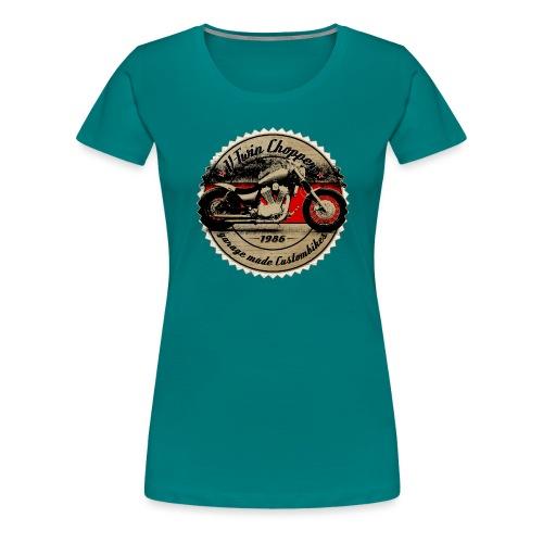 CHROMELESS V2 CHOPPER VOL2 - Frauen Premium T-Shirt