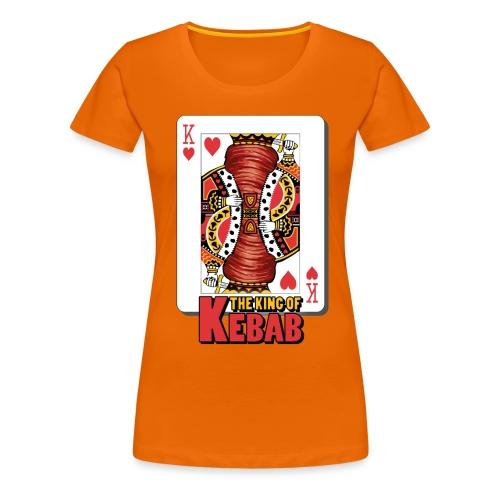 The King Of Kebab (Cotto & Frullato) T-Shirt Uomo - Maglietta Premium da donna