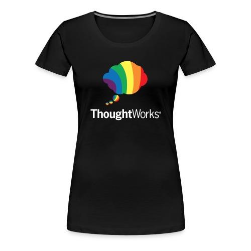 ThoughtWorks Cloud, white - Frauen Premium T-Shirt