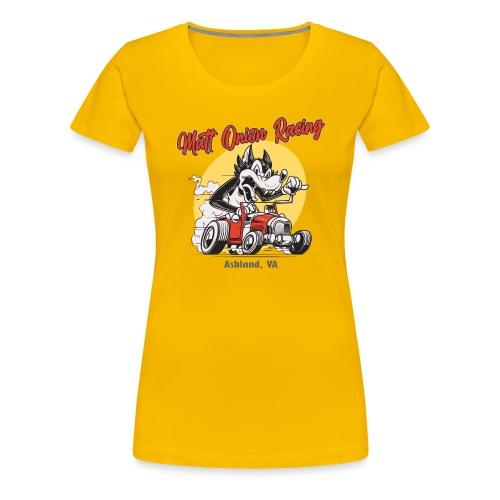 Matt Onion Racing - US Muscle Car Hotrod Motorrad - Frauen Premium T-Shirt