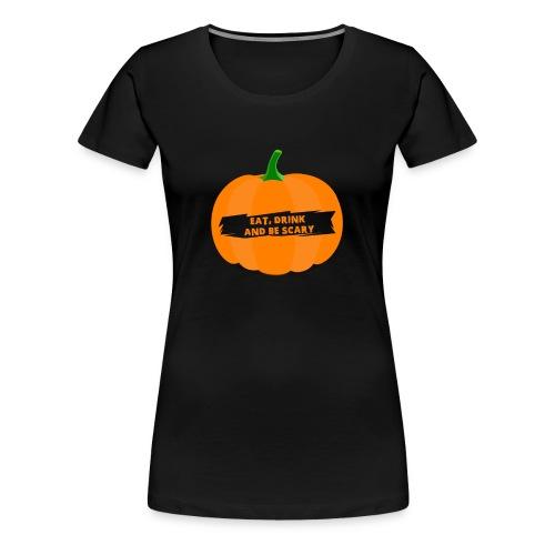 Halloween Pumpkin Shirt for Halloween - Women's Premium T-Shirt