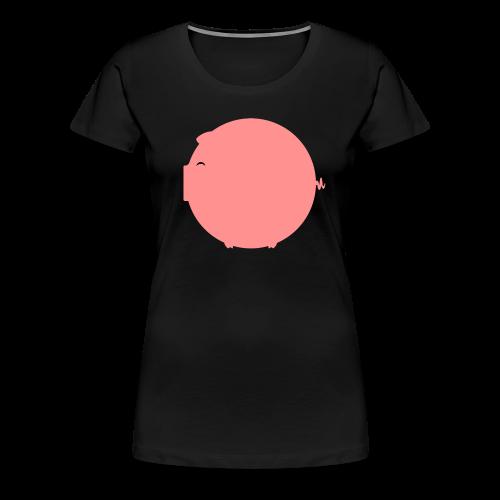 cochon - T-shirt Premium Femme