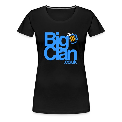 BIg Clan Logo Light Blue - Women's Premium T-Shirt