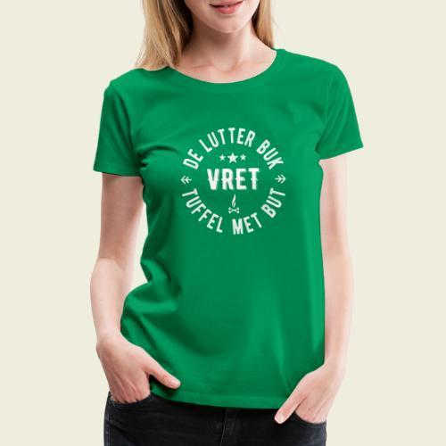 De Lutter buk - Vrouwen Premium T-shirt