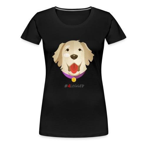 Golden Retriever - Maglietta Premium da donna