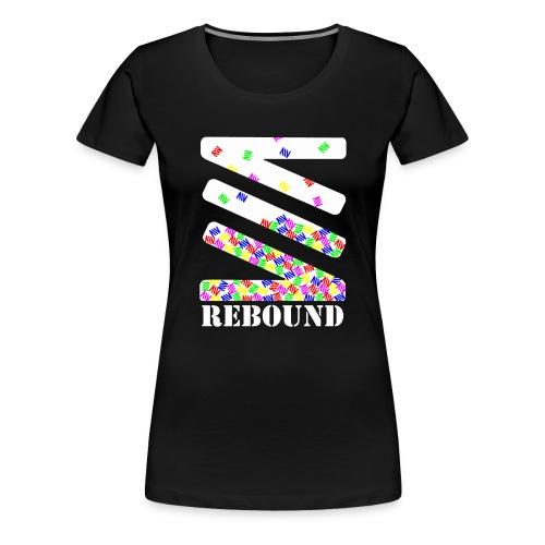 Falling logo - Women's Premium T-Shirt
