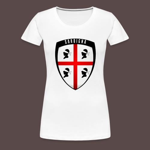 Sardegna Stemma - Maglietta Premium da donna