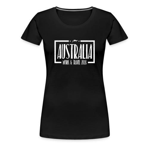 Australia Work & Travel Shirt - Frauen Premium T-Shirt