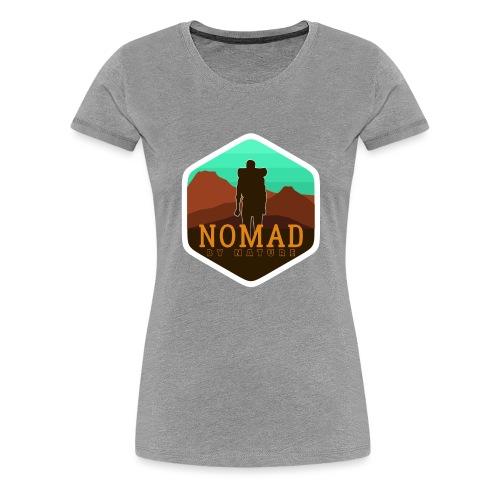 Nomad By Nature - Frauen Premium T-Shirt