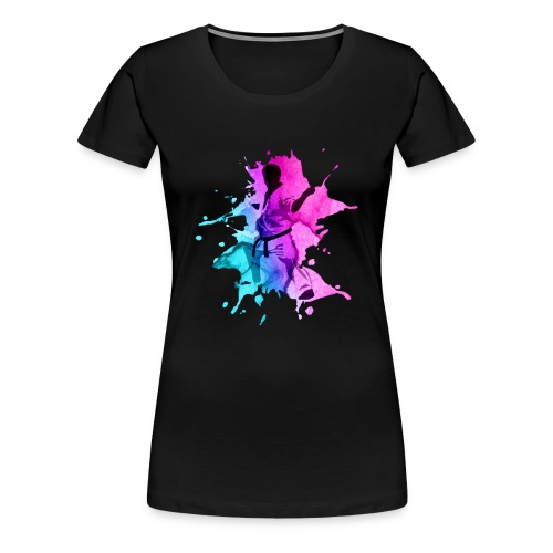 Karate - Frauen Premium T-Shirt