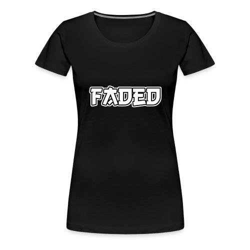 Faded - Frauen Premium T-Shirt