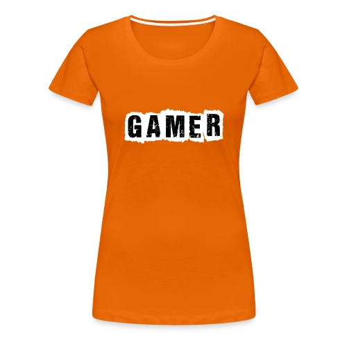 Gamer - Frauen Premium T-Shirt