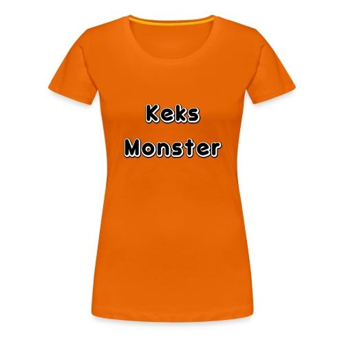 Keks Monster - Frauen Premium T-Shirt