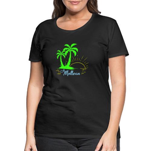 Die goldenen Sonnenuntergänge von Mallorca - Frauen Premium T-Shirt