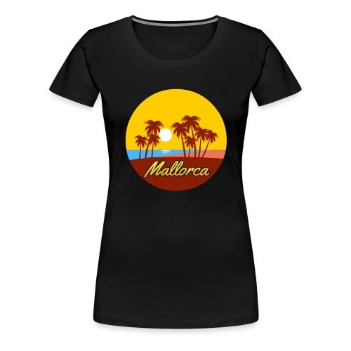 Mallorca - Als Geschenk oder Geschenkidee - Frauen Premium T-Shirt