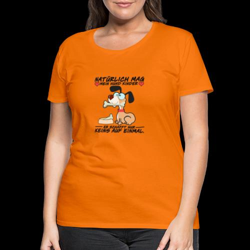 Dog - Frauen Premium T-Shirt