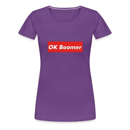 OK Boomer Meme - Women's Premium T-Shirt