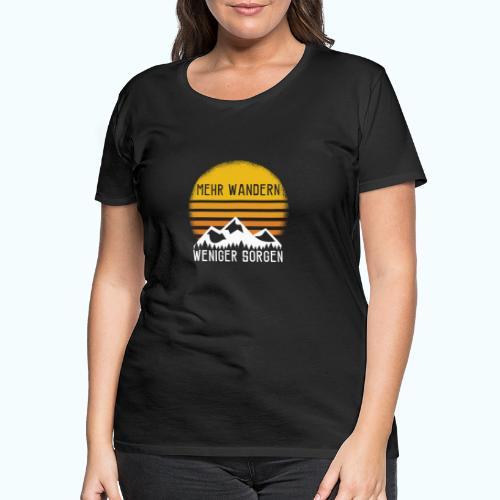 hike - Women's Premium T-Shirt